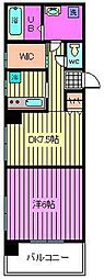 グレートラビII[311号室]の間取り
