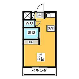 World Wing[4階]の間取り