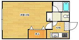 マンションイレブン[2階]の間取り