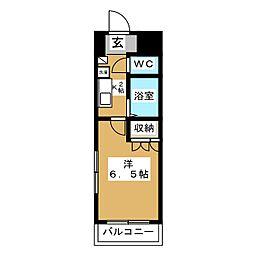バースランド小松島[6階]の間取り