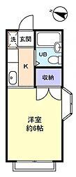 エステートピア八千代台東[2階]の間取り