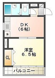アビーロード[4階]の間取り