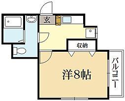 Heights華[2階]の間取り