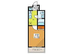 東京都府中市清水が丘3丁目の賃貸マンションの間取り