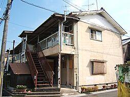 京都府宇治市菟道丸山の賃貸アパートの外観
