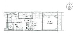 Casa di Higasiyama[301号室]の間取り