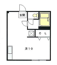 センティール新百合ヶ丘2[4階]の間取り