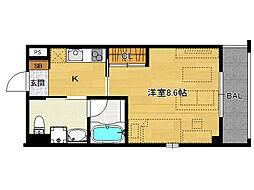 仮)上賀茂デザイナーズマンション[204号室]の間取り