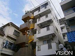アキマンション[4階号室]の外観