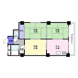 第1TYハイム[3階]の間取り