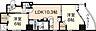 間取り,1SLDK,面積54.72m2,賃料13.6万円,JR山陽本線 広島駅 徒歩10分,広島電鉄9系統 女学院前駅 徒歩5分,広島県広島市中区鉄砲町