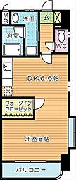 WINGS片野II(ウィングス片野II)[10階]の間取り