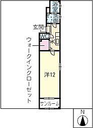 ディアメゾン[2階]の間取り