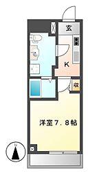 Collection CAYAGASAKA(コレクションチャヤガサカ)[2階]の間取り