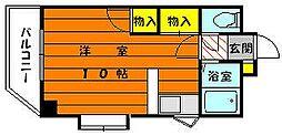 グラントゥール松崎[2階]の間取り