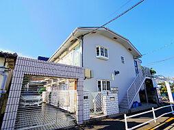 東京都東久留米市前沢4丁目の賃貸アパートの外観