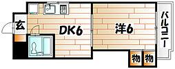VIP浅野[8階]の間取り