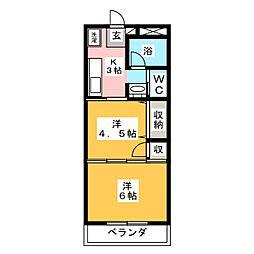 スペリオーレ[2階]の間取り