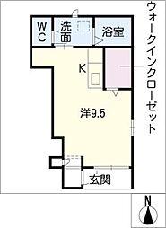 セントラル・ウッズ[1階]の間取り