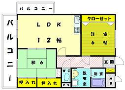 T・MORI[2階]の間取り