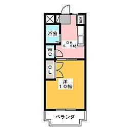 MAISON SOLEIL[2階]の間取り