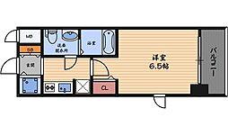 アドバンス西梅田2[10階]の間取り