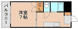 ロイヤルハイツ原田[1階]の間取り