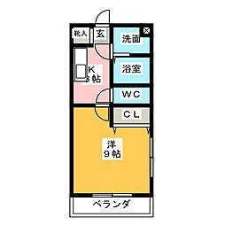 SYLPH-K[5階]の間取り