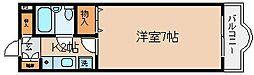 兵庫県神戸市兵庫区湊川町4丁目の賃貸マンションの間取り