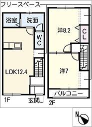 [タウンハウス] 愛知県碧南市日進町4丁目 の賃貸【/】の間取り
