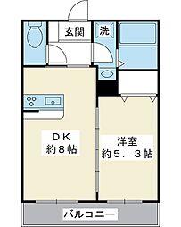 千葉県浦安市富士見1丁目の賃貸アパートの間取り