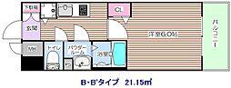 プレサンス福島ニューゲート[8階]の間取り
