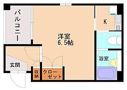 K&S高宮[2階]の間取り