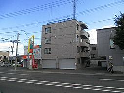 北海道札幌市北区太平十二条5丁目の賃貸マンションの外観