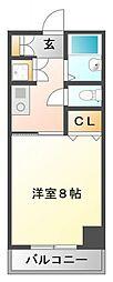 ラファイン江坂[6階]の間取り