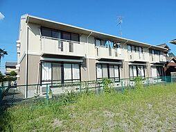 三重県鈴鹿市白子3丁目の賃貸アパートの外観