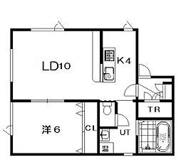 仮)6−22新築[203号室]の間取り