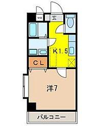 アーバンパレス宮田2[2階]の間取り