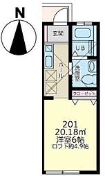 エテルナ下永谷(エテルナシモナガヤ)[2階]の間取り