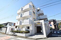 埼玉県川越市砂新田3丁目の賃貸マンションの外観
