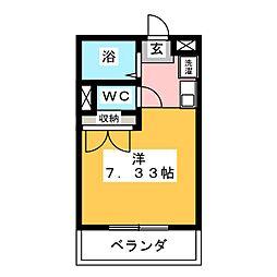 芳泉[1階]の間取り