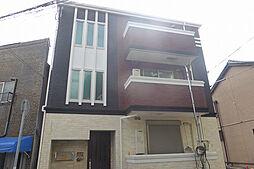 兵庫県神戸市中央区楠町1丁目の賃貸アパートの外観