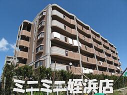 福岡県福岡市西区飯氏の賃貸マンションの外観