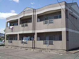 コーポタウン別明[2階]の外観