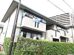 大阪府四條畷市岡山東3丁目の賃貸アパートの外観