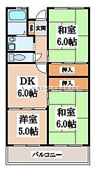 ガーデン・ハウス[1階]の間取り