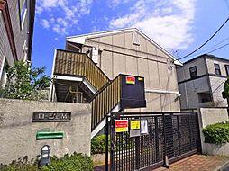 東京都足立区西竹の塚2丁目の賃貸アパートの外観
