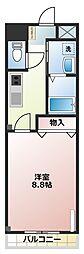プチ・シャンブル[1階]の間取り