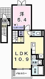 フォーチュナリー・コックスIII[2階]の間取り