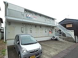 兵庫県神戸市垂水区小束山本町2丁目の賃貸アパートの外観